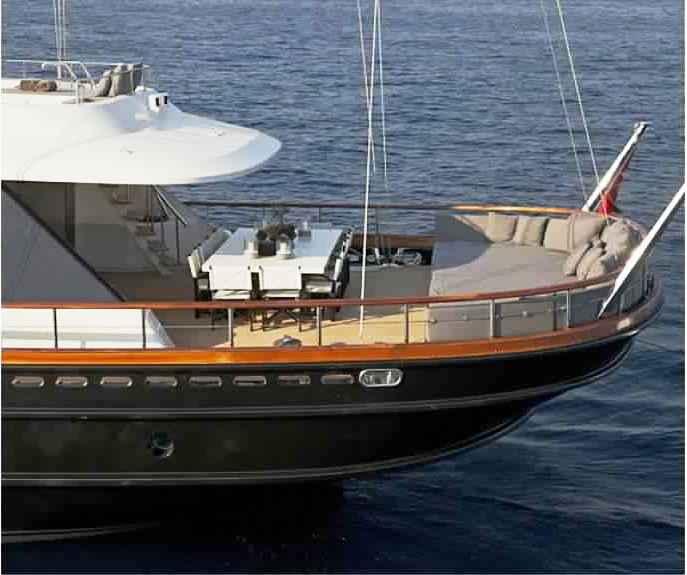 superbe yacht de luxe de 46 m quip pour croisiere avec groupe jusque 12 invit s les annonces. Black Bedroom Furniture Sets. Home Design Ideas