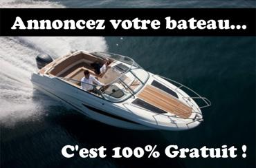 Annoncez votre bateau gratuitement avec Les Annonces Nautiques